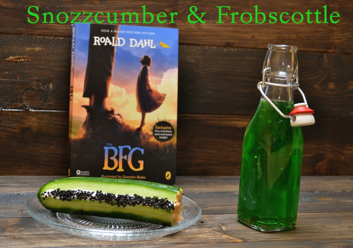 The BFG's frobscottle and snozzcumber
